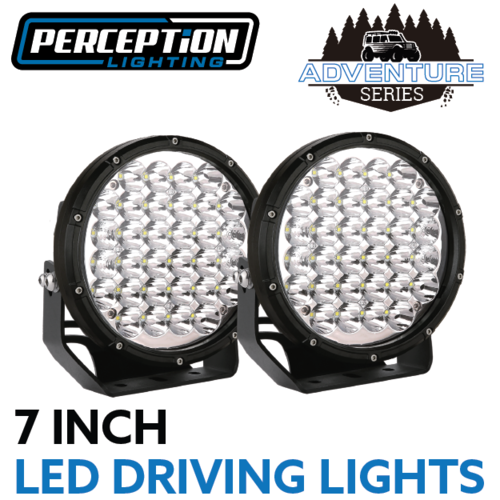 "Adventure Series 7"" LED Driving Lights"