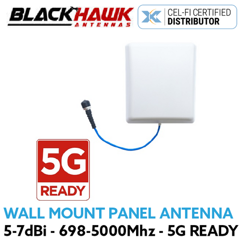 Blackhawk Wall Mount 698-4000MHz 5-7dBi Panel Antenna