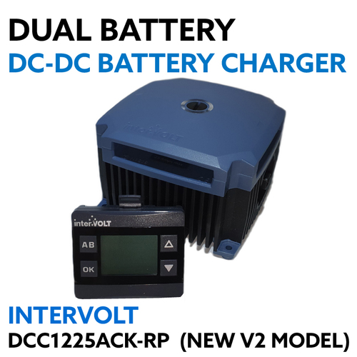 Intervolt 12V 25 Amp DC to DC Charger MPPT Solar Version 2 Lithium DCC1225ACK-RP