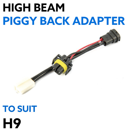 Piggy Back Adapter H9 for High Beam Wiring Adapter
