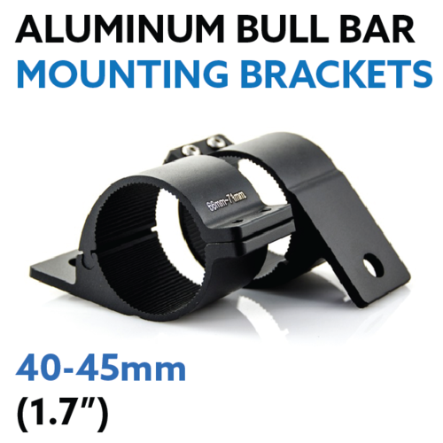 "40 - 45mm (1.7"") Aluminium Bull bar Mounting Brackets"