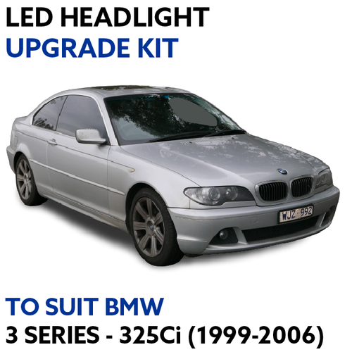 LED Headlight Upgrade Kit for BMW 3 Series 325Ci (1999-2006)