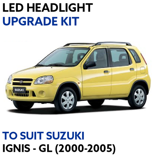 LED Headlight Upgrade Kit for Suzuki Ignis GL (2000-2005)