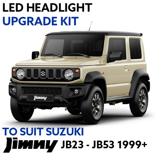 LED Headlight Upgrade Kit for Suzuki Jimny JB23-JB53 1999+