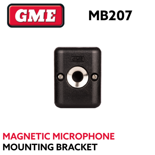 GME MB207 Magnetic Microphone Mounting Bracket - Includes 3MAP Aadhesive Patch