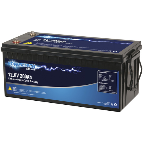 12.8V 200Ah Lithium Deep Cycle Battery