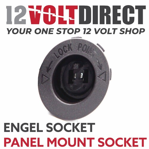 Engel Socket for Flush & Surface Mount (2 Pin)