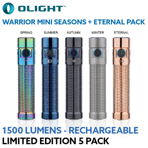 Olight Warrior Mini Seasons & Eternal Limited Edition Torch Pack